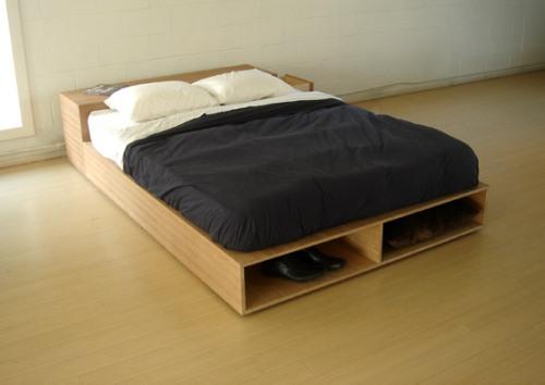 Кровать-подиум фото
