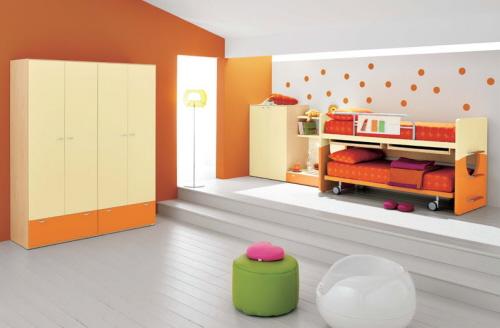 Детская комната с подиумом