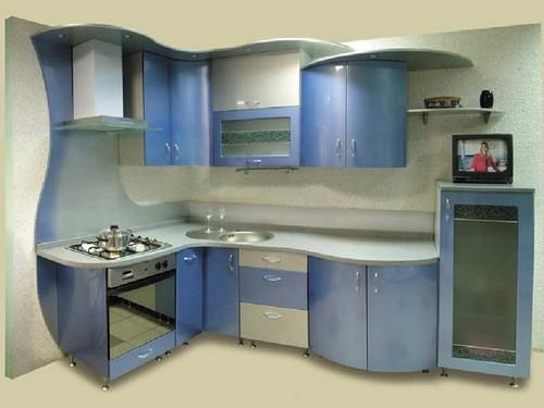 Кухонная мебель хай-тек