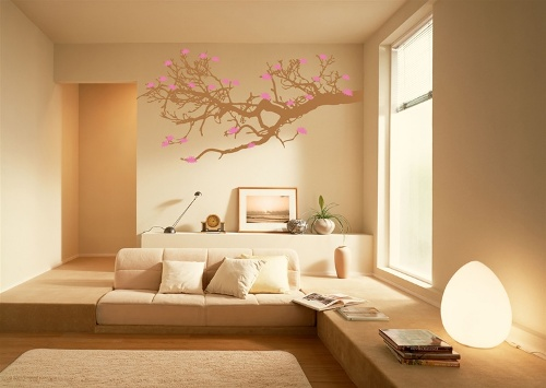 Трафареты для стен дерево