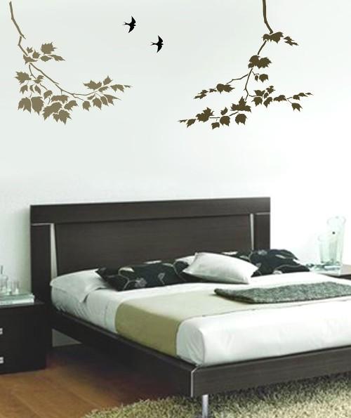 Трафареты для спальни