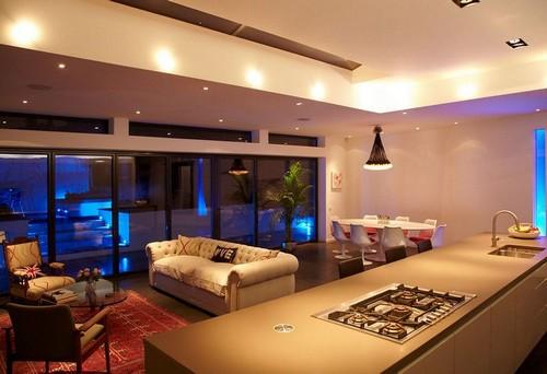 Кухня столовая гостиная дизайн