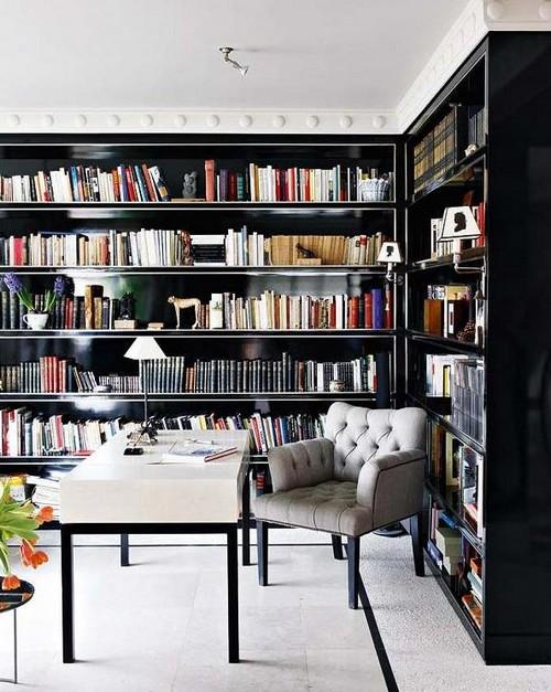 Интерьер кабинета библиотеки