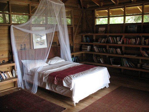 Спальня в эко стиле