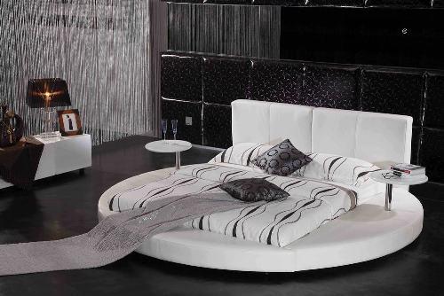 Круглая кровать-подиум
