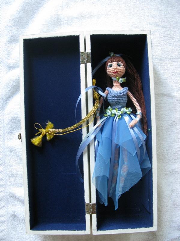 Вязанная кукла амигуруми. Фото 22