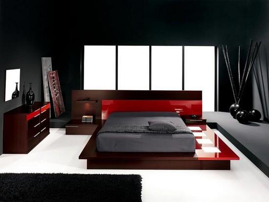 Фото модных спальных гарнитуров