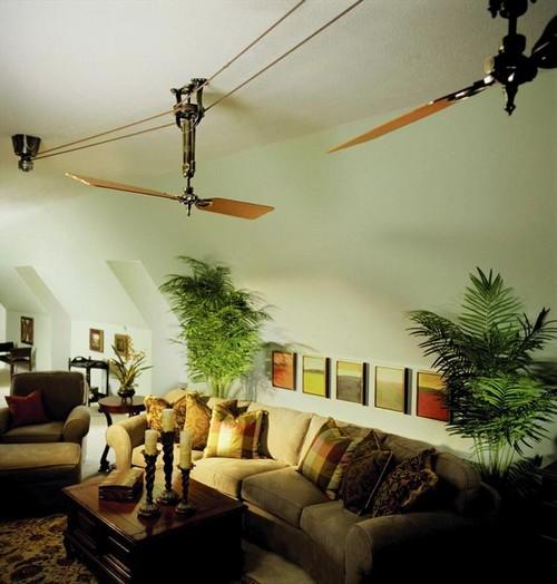 Потолочные вентиляторы фото