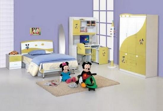 Интерьер комнаты для первоклассника