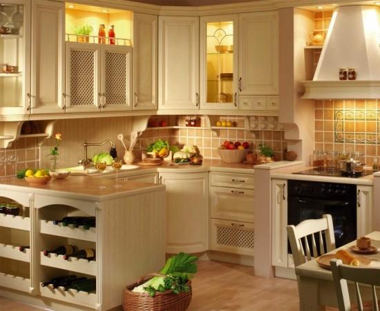 Кухня в стиле кантри фото