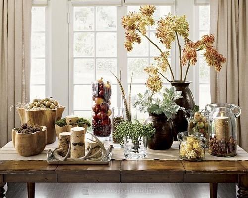 Осенний интерьер фото