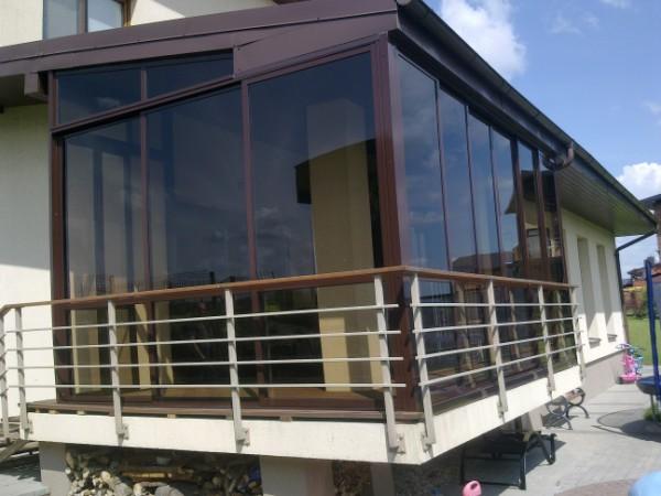 Остекление балконов фото - варианты остекления балконов дом .