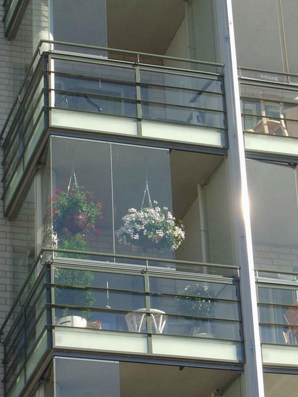 Размер остекления алюминиевого балкона комплекса царицыно..