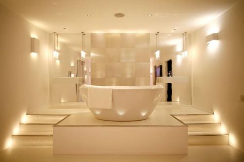 Освещение ванной комнаты