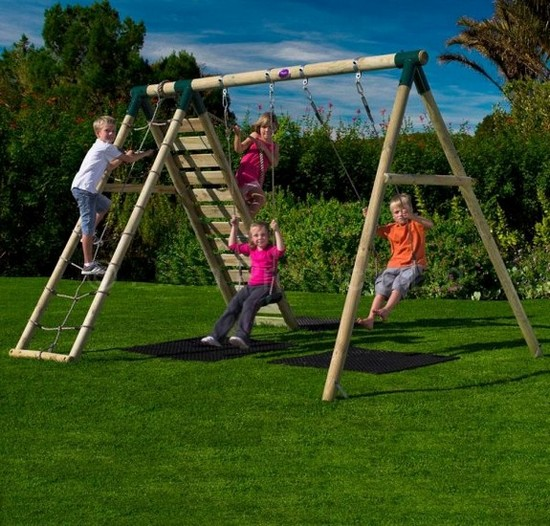 Детские садовые качели - детская площадка для дачи