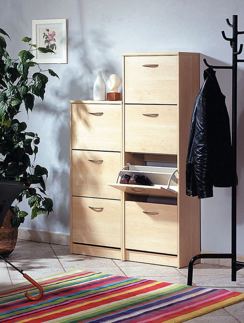Шкаф для обуви слим