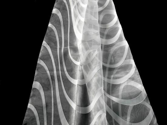 Шторы из органзы фото