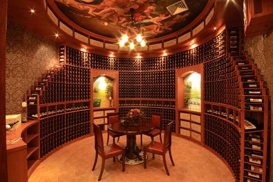 Дизайн винного погреба