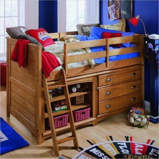 Детская кровать-чердак фото