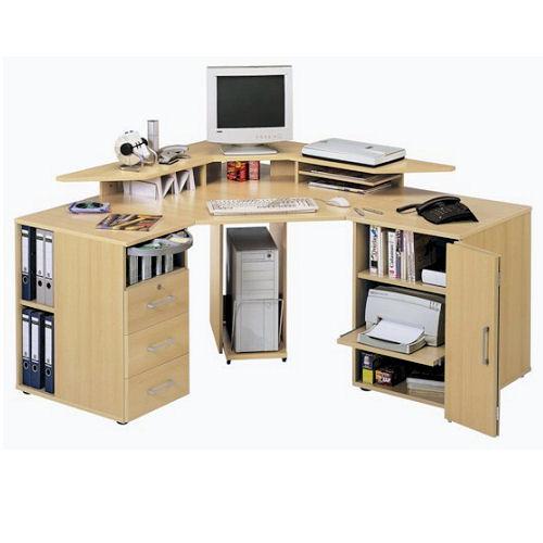 Угловые компьютерные столы для дома