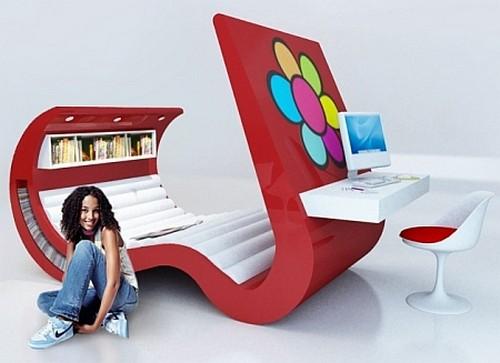 необычные компьютерные столы