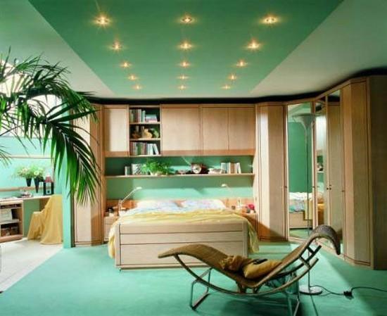 потолочные точечные встраиваемые светильники
