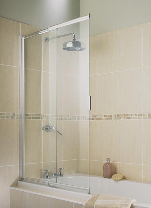 Шторки для ванной стеклянные