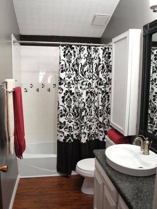 Шторы для ванной комнаты фото