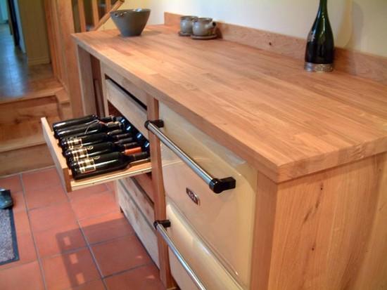 Столешницы для кухни из дерева