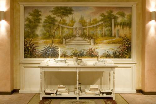 Фрески в современном интерьере