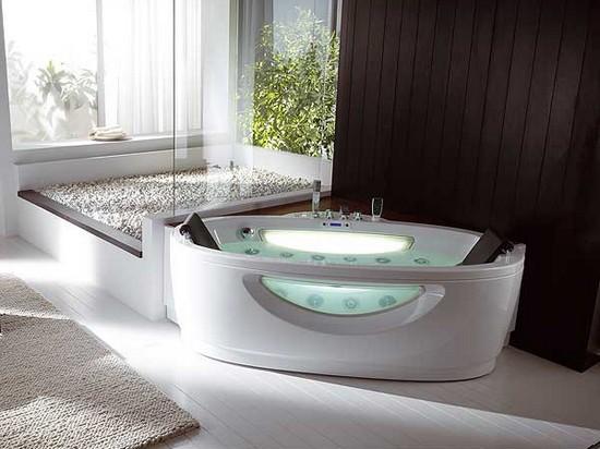 Угловые ванны с гидромассажем