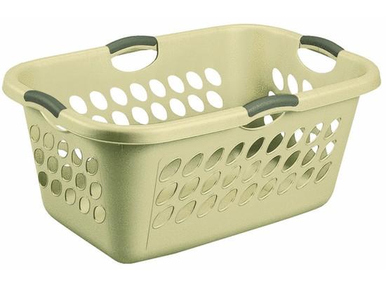 Пластмассовая корзина для белья