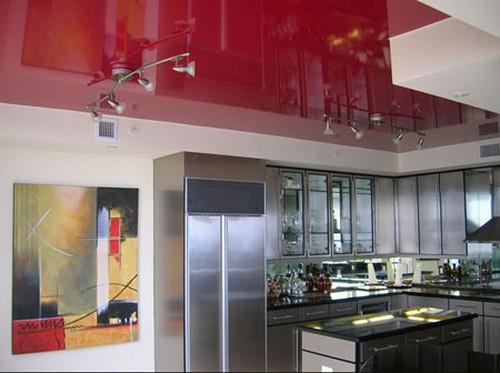 Люстры для натяжных потолков фото
