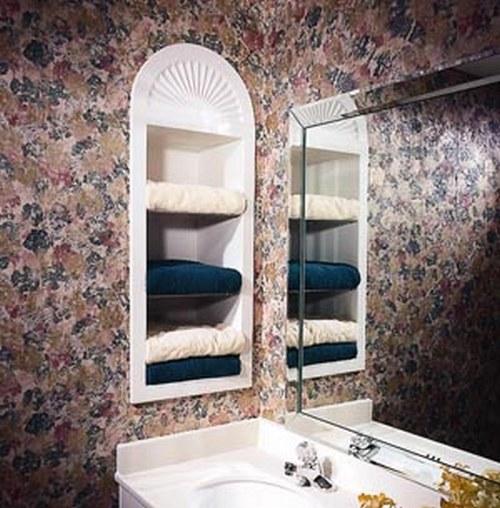 Ниша в ванной фото