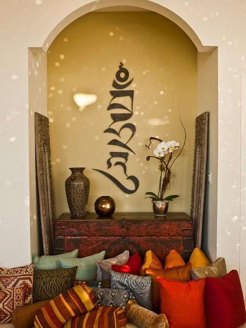 Декоративные ниши в стене