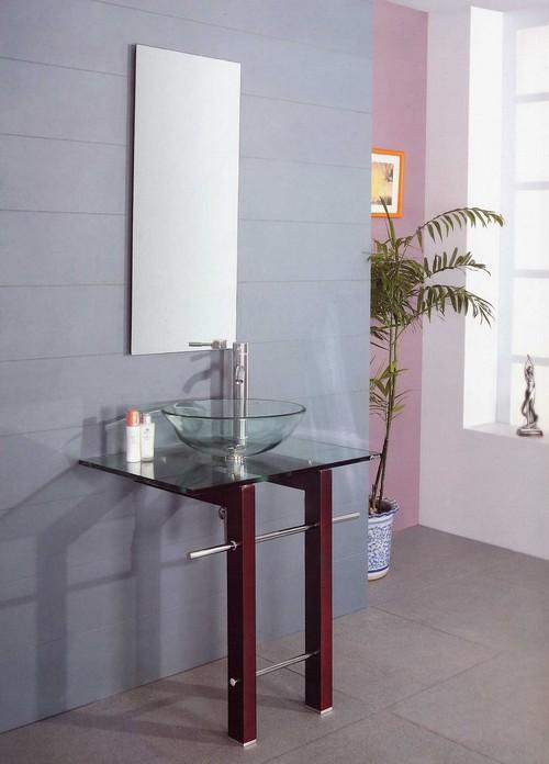 Стеклянные раковины для ванной