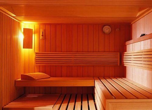 Внутренняя отделка бани фото