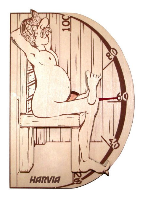 Термометр HARVIA Sauna-Man WX015.