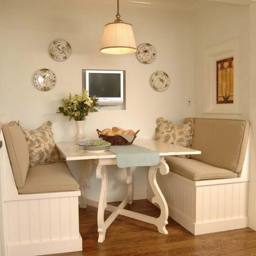 Дизайн квартиры с нишей - столовая в нише