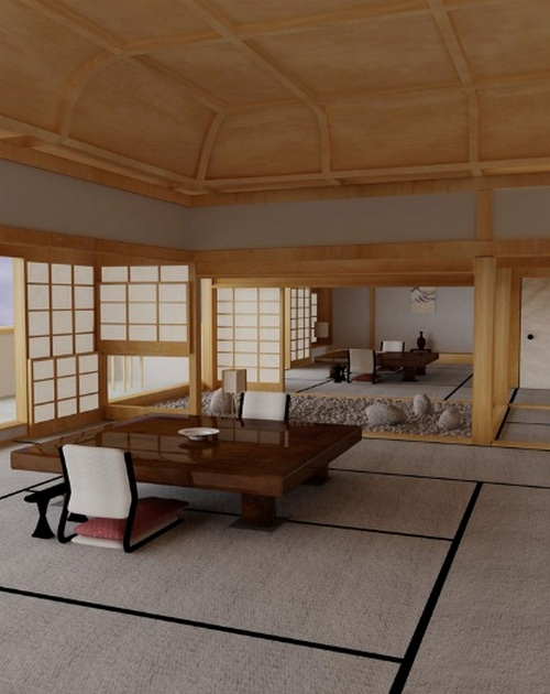 Ванная комната в восточном стиле дизайн фото