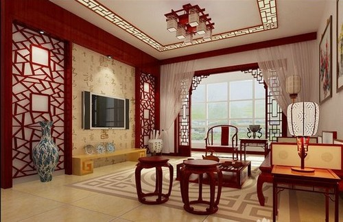 Интерьер китайский фото