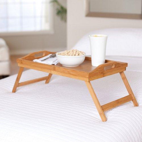 Столик для завтрака в постель бамбуковый