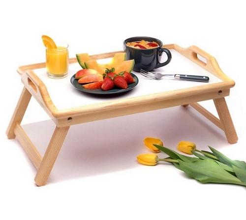 Столик для завтрака в постель складной