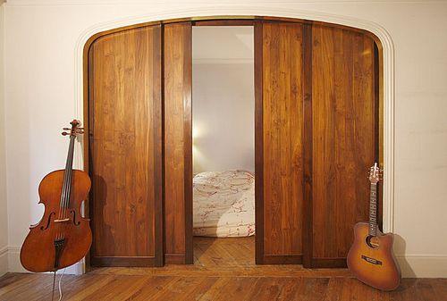 Раздвижные двери своими руками в нишу 65