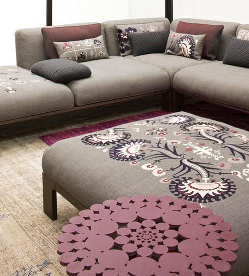 Мягкий уголок с диваном от Патриции Уркиолы