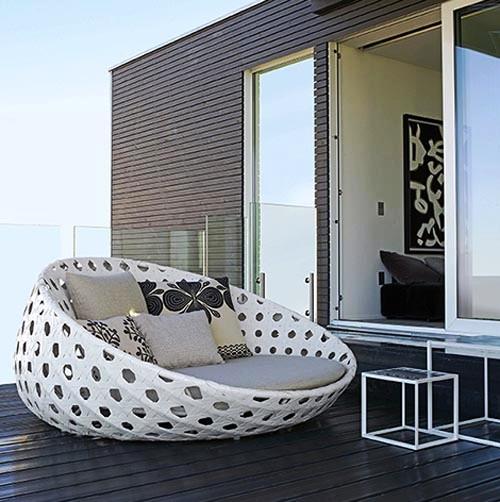 Мягкая округлая мебель от Patricia Urquiola