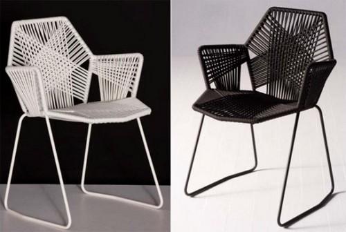 Ажурная мебель от Patricia Urquiola