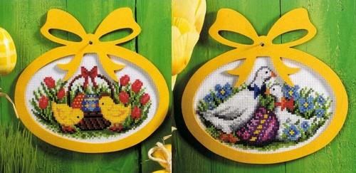 Пасхальные картинки - вышивка к Пасхе 2012
