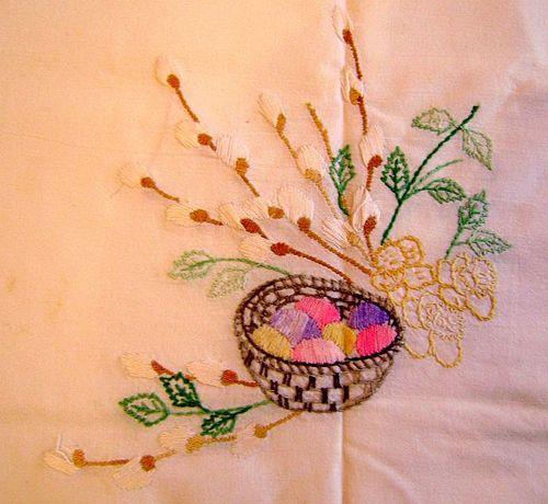 Пасхальный рушник - вышивка к Пасхе