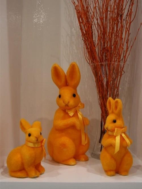 Пасхальные зайцы декоративные